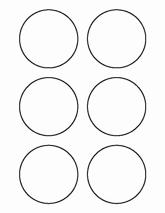 Three Inch Circle Template New 3 Inch Circle Pattern Use the Printable Outline for