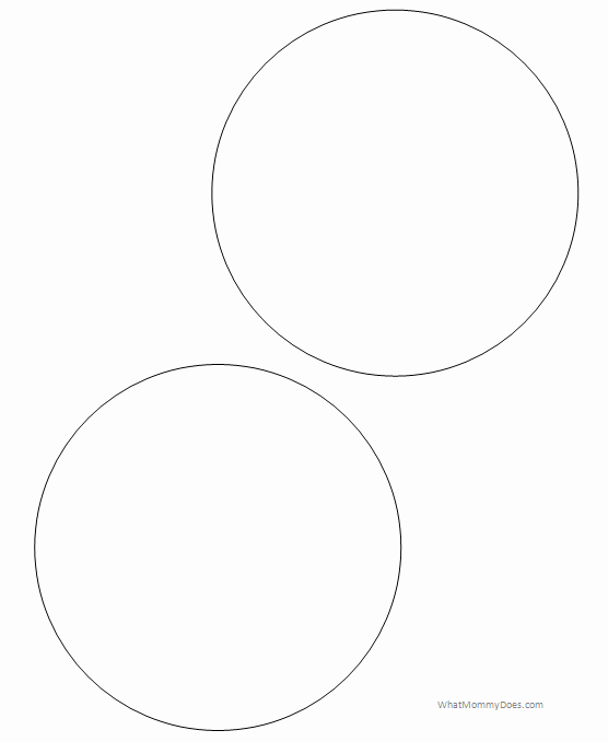 Three Inch Circle Template Unique Free Printable Circle Templates and Small Stencils