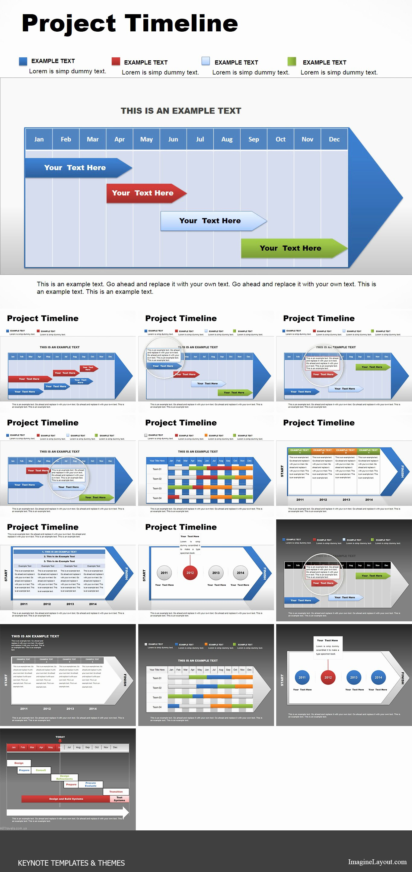 Timeline Template Keynote Fresh Project Timeline Keynote Charts