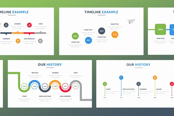 Timeline Template Keynote Lovely Free Timeline Keynote Template Free Presentation Keynote
