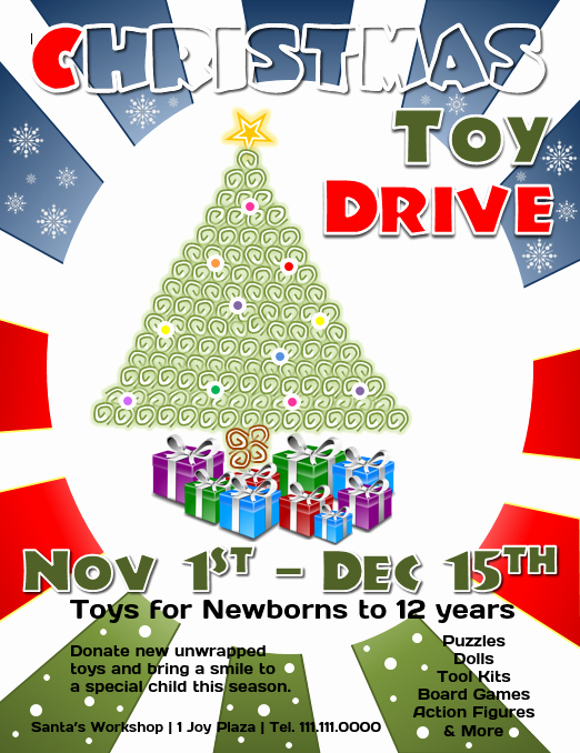 Toy Drive Flyer Template Best Of Download This Free Christmas toy Drive Flyer Template for