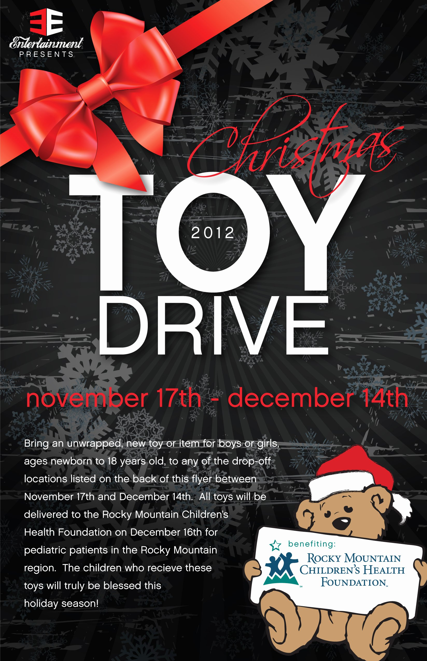 Toy Drive Flyer Template Fresh Portfolio