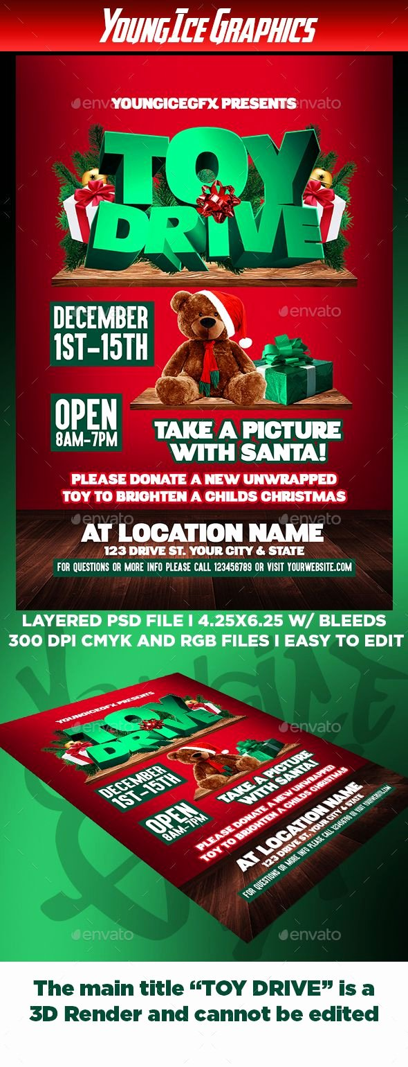 Toy Drive Flyer Template Inspirational 229 Best Flayer Design Images On Pinterest