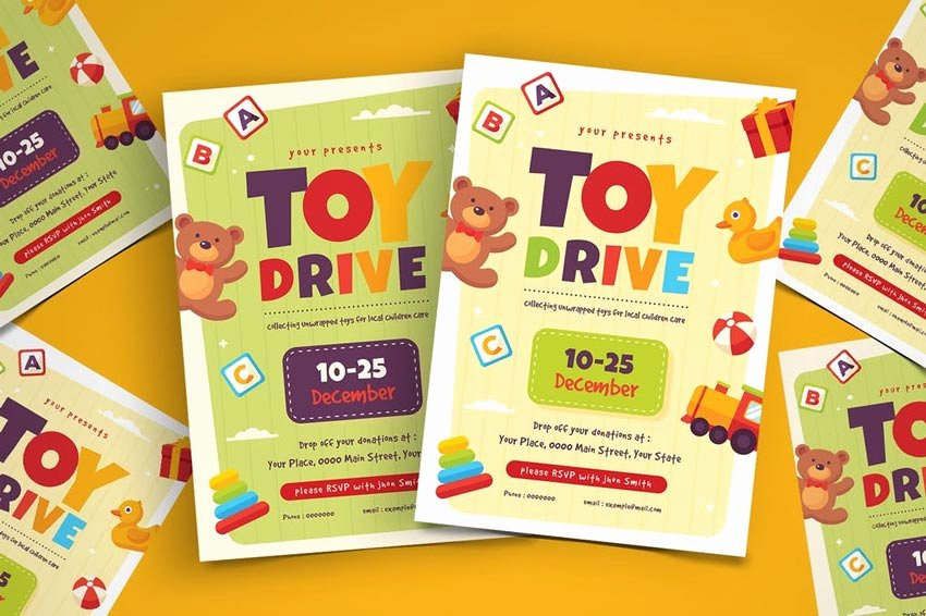 Toy Drive Flyer Template Luxury 26 Best New event Flyers for 2019
