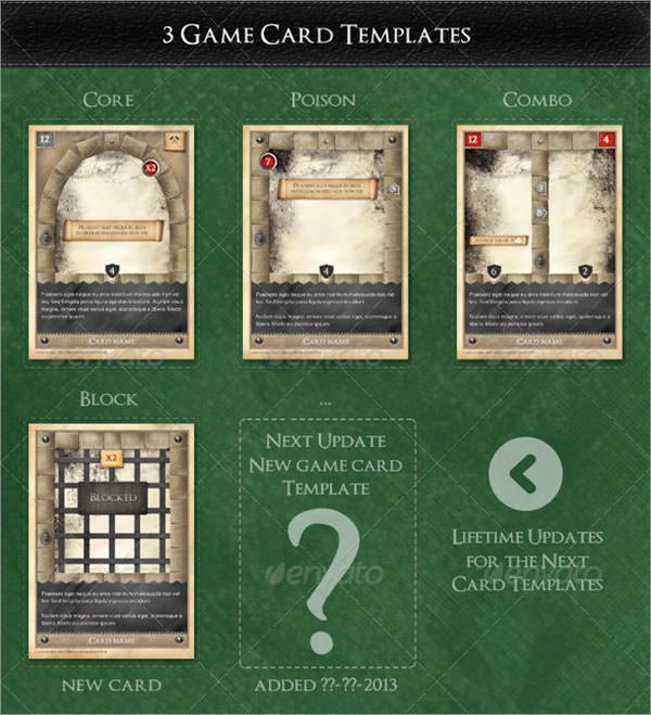 Trading Card Template Free Awesome 8 Sample Trading Card Templates