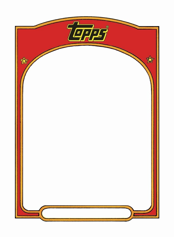 Trading Card Template Free Beautiful Best 25 Trading Card Template Ideas On Pinterest