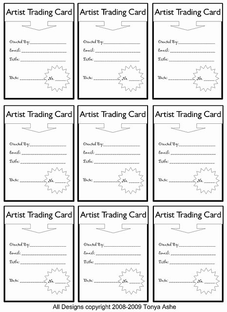 Trading Card Template Free Best Of 259 Best Images About Trading Cards On Pinterest
