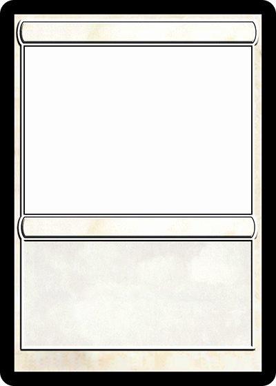 Trading Card Template Free Elegant Magic Trading Card Template