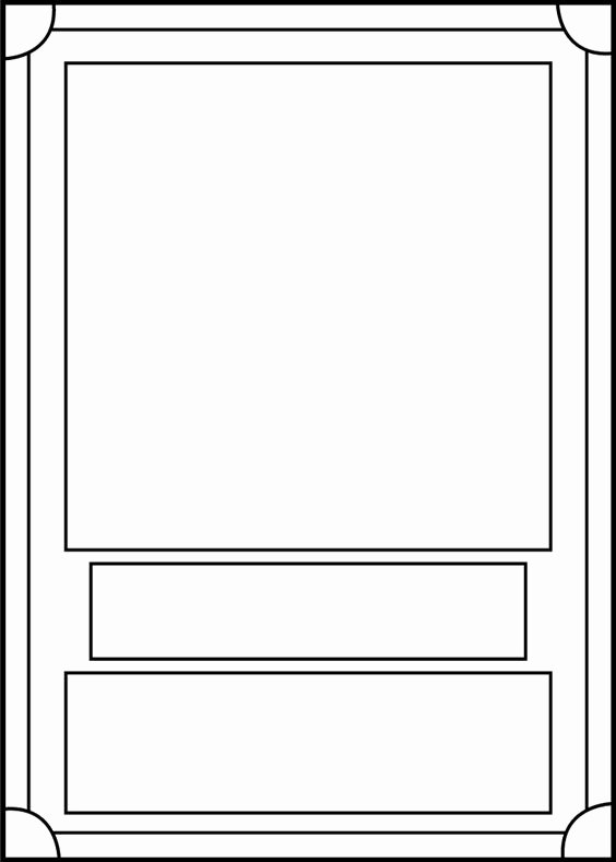 Trading Card Template Free Lovely Trading Card Template Front by Blackcarrot1129 Making