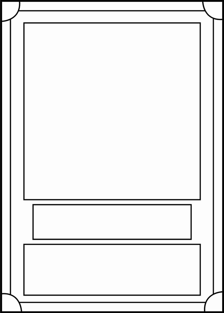 Trading Card Template Free Lovely Trading Card Template Front by Blackcarrot1129 On