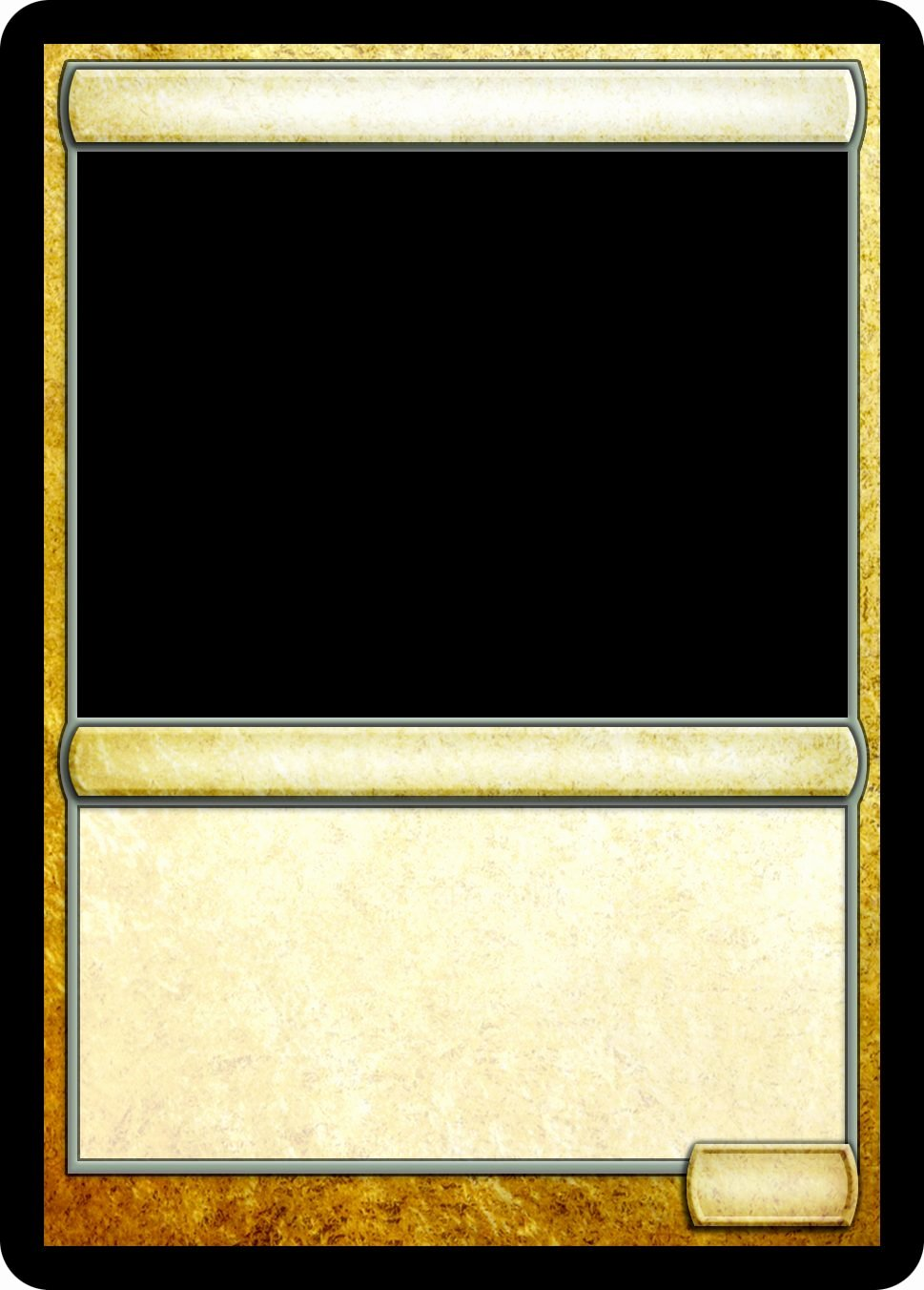 Trading Card Template Free Unique Magic Trading Card Template