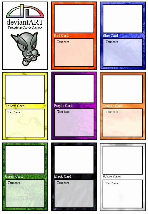 Trading Card Template Word Awesome Trading Card Template