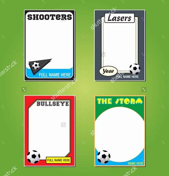 Trading Card Template Word New Trading Card Template 2017