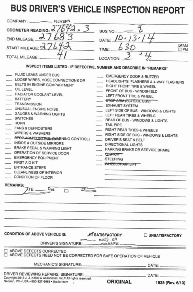 Trailer Inspection form Template Elegant Report Trailer Inspection forme Preventive Maintenance