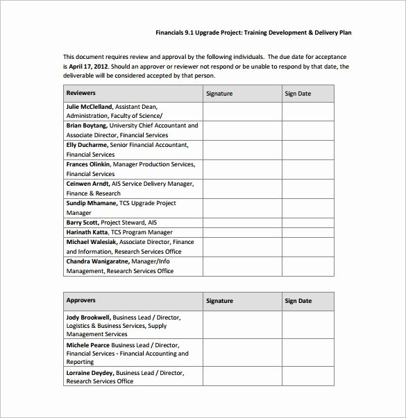 Training and Development Plan Example New 29 Training Plan Templates Doc Pdf