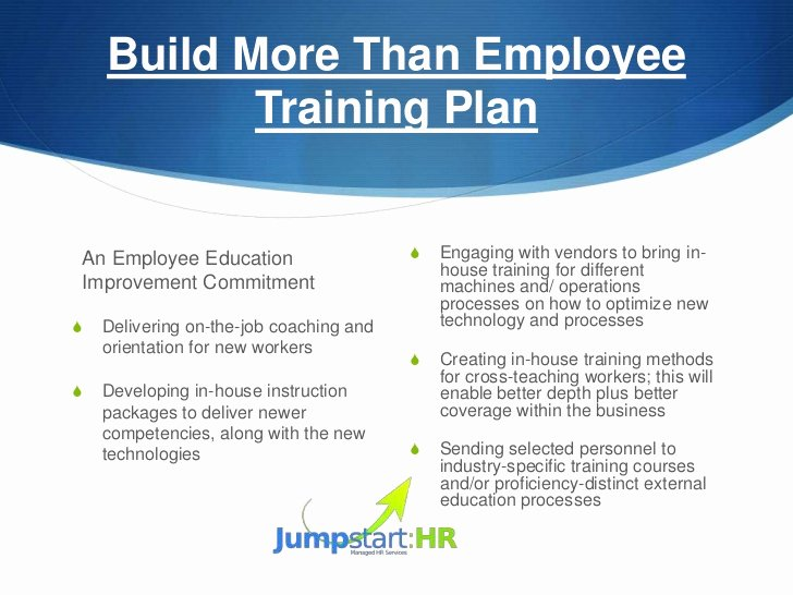 Training and Development Plan Template Fresh How to Develop An Employee Development Plan