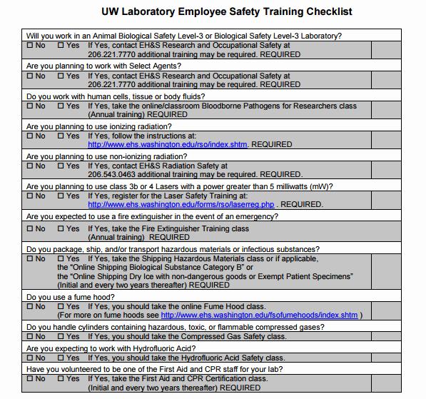 Training Checklist Template Excel Luxury 5 Training Checklist Templates Word Excel Templates