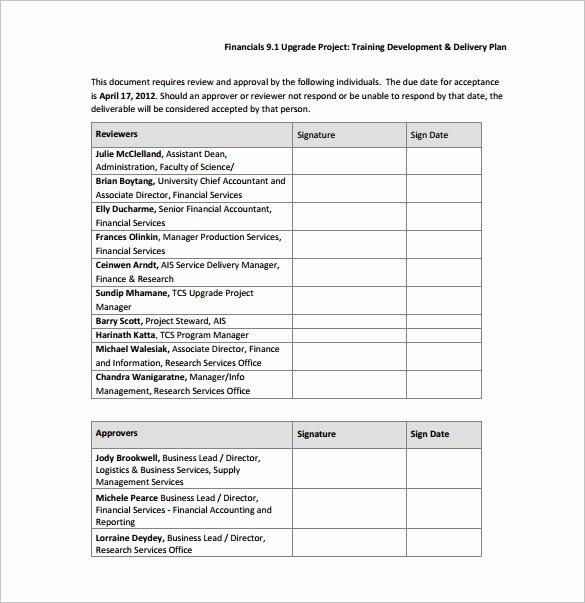 Training Development Plan Template Beautiful 29 Training Plan Templates Doc Pdf