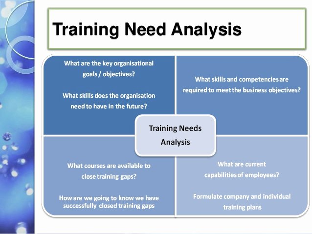 Training Needs Survey Beautiful Training Need assessment In A 5star Ho