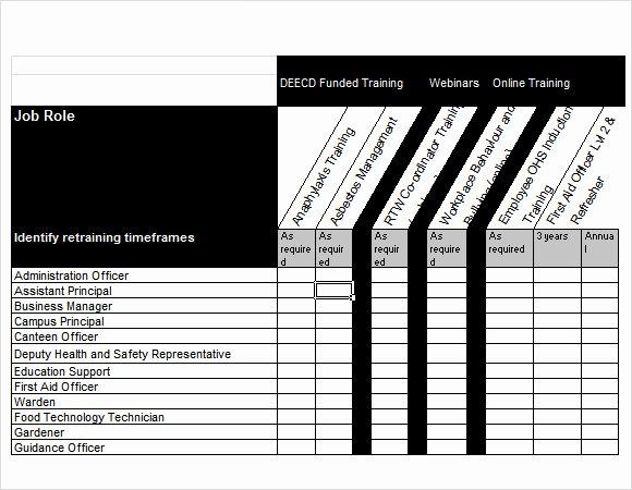 Training Needs Survey Elegant 12 Sample Training Needs Analysis Templates Pdf Word