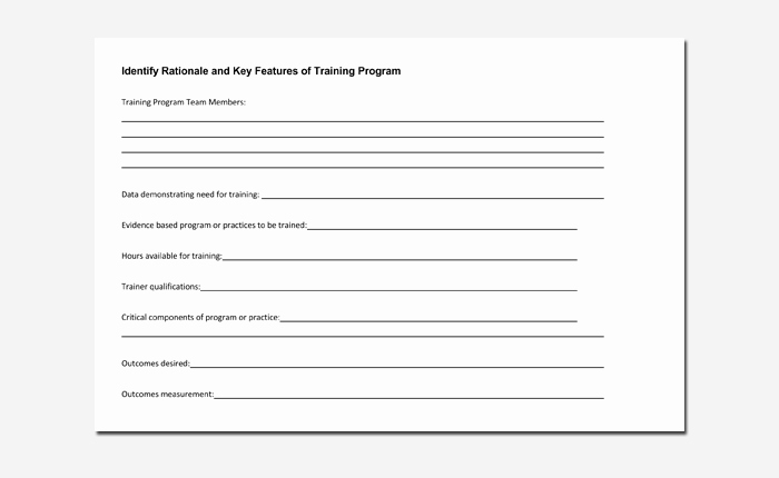 Training Outline Template Word Fresh Training Course Outline Template 24 Free for Word & Pdf