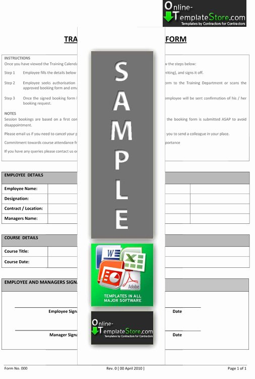 Training Request form Template Lovely Human Resources Templates