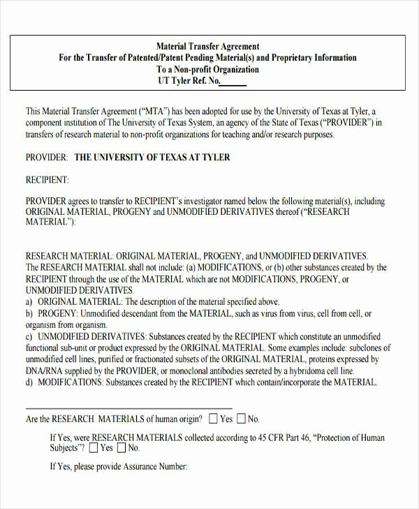 Transfer Of Business Ownership Agreement Template Luxury 13 Property Transfer Letter Templates Pdf Doc