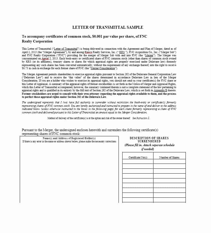 Transmittal form Templates Best Of Letter Of Transmittal 40 Great Examples & Templates