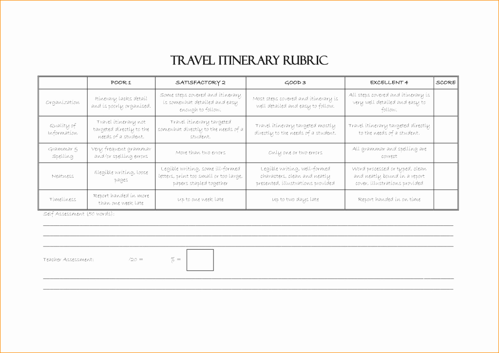 Travel Itinerary Template Word 2010 Lovely Travel Itinerary Template Microsoft Word Business Excel