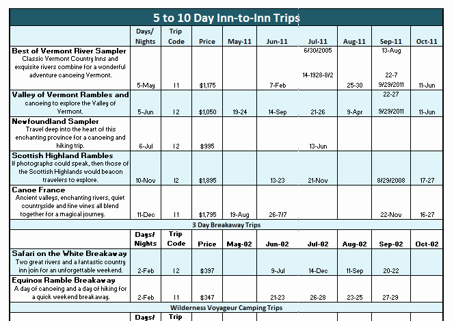 Travel Schedule Template Awesome Trip Schedule Templates 8 Free Templates Schedule