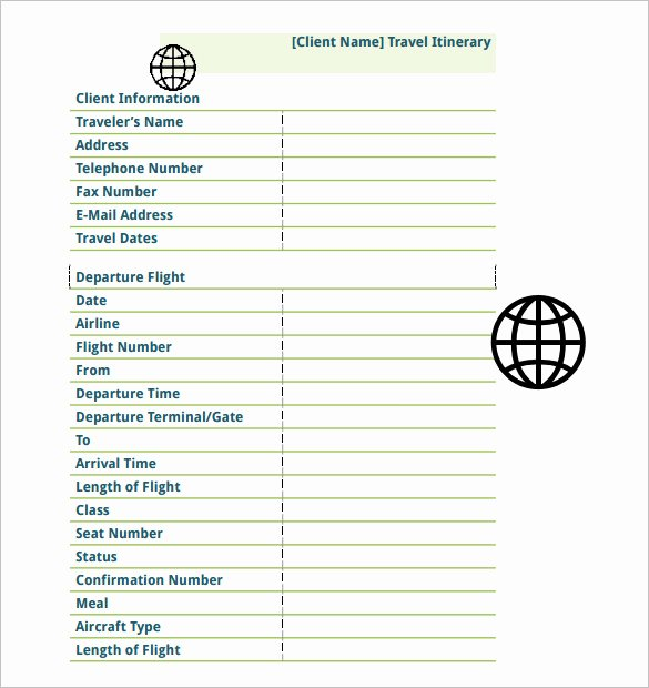 Travel Schedule Template Lovely 16 Travel Schedule Templates Free Word Excel Pdf