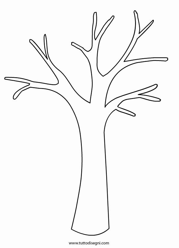 Tree Trunk Template Beautiful Tree Trunk Coloring Page Coloring Pages