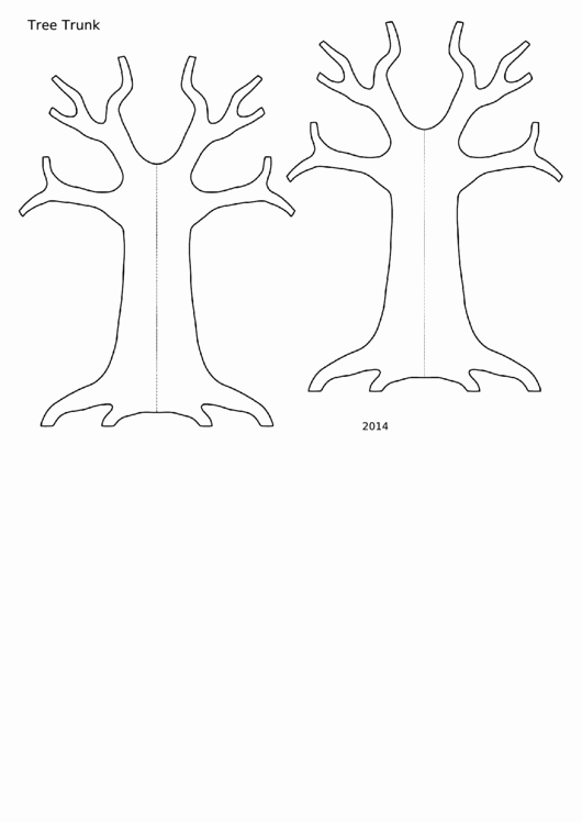 Tree Trunk Template Unique top 6 Tree Trunk Templates Free to In Pdf format