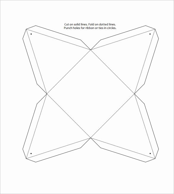 Triangle Foldable Template Awesome Triangle Box Template – 15 Free Sample Example format