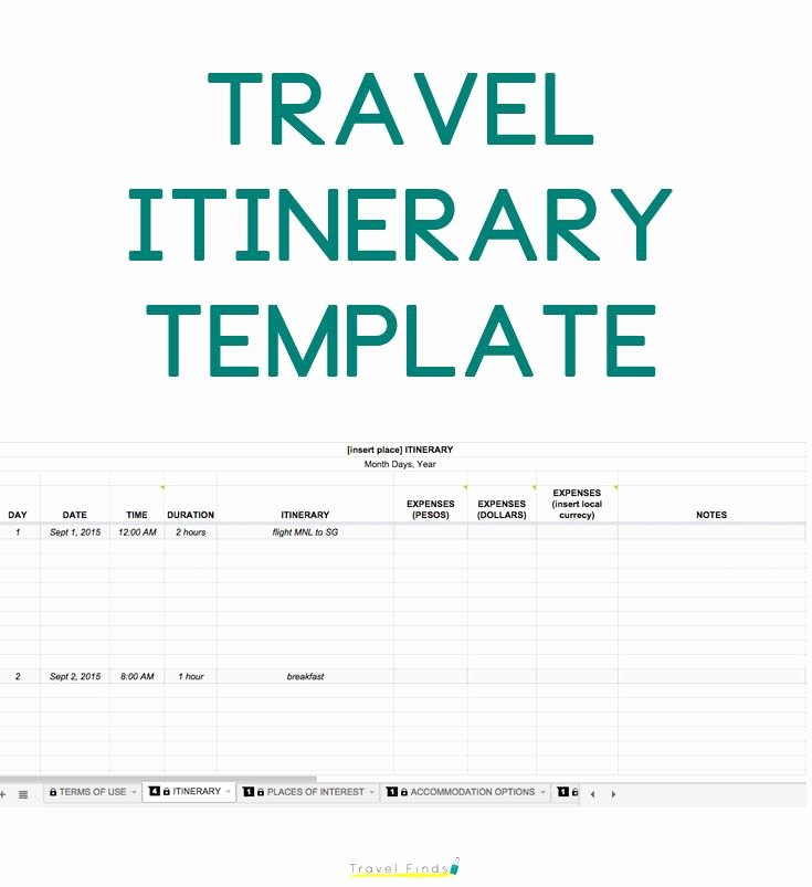 Trip Itinerary Template Google Docs Beautiful How to Plan A Trip Free Travel Itinerary Template