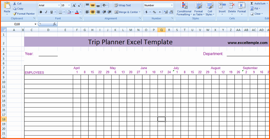 Trip Planner Template Excel Inspirational Road Trip Excel Template Driverlayer Search Engine