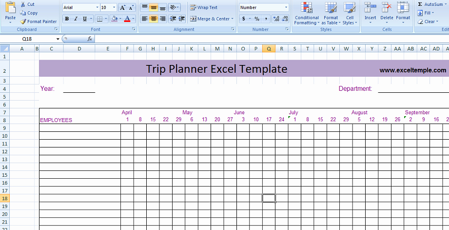 Trip Planner Template Excel Luxury Project Management Expense Tracking Template