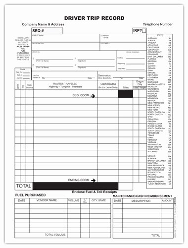 Trip Sheet for Truck Driver Fresh towing form