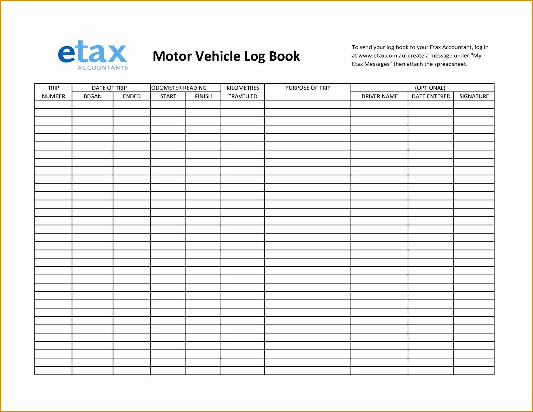 Trip Sheet for Truck Driver Luxury 5 Truck Drivers Trip Sheet Template