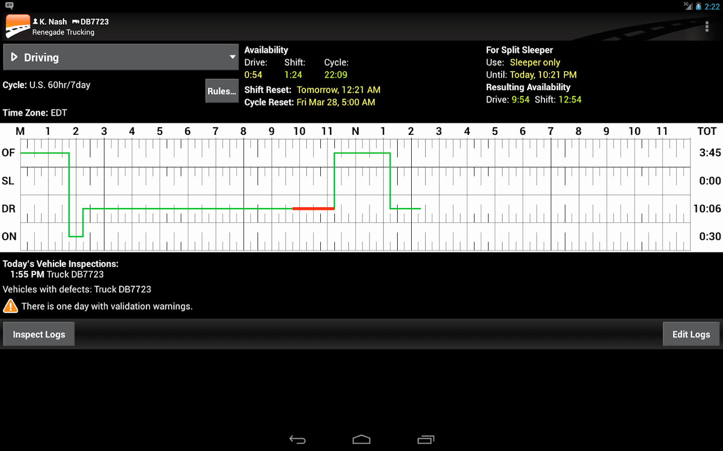Truck Driver Log Book Excel Template Elegant Bigroad Trucking Logbook App android Apps On Google Play