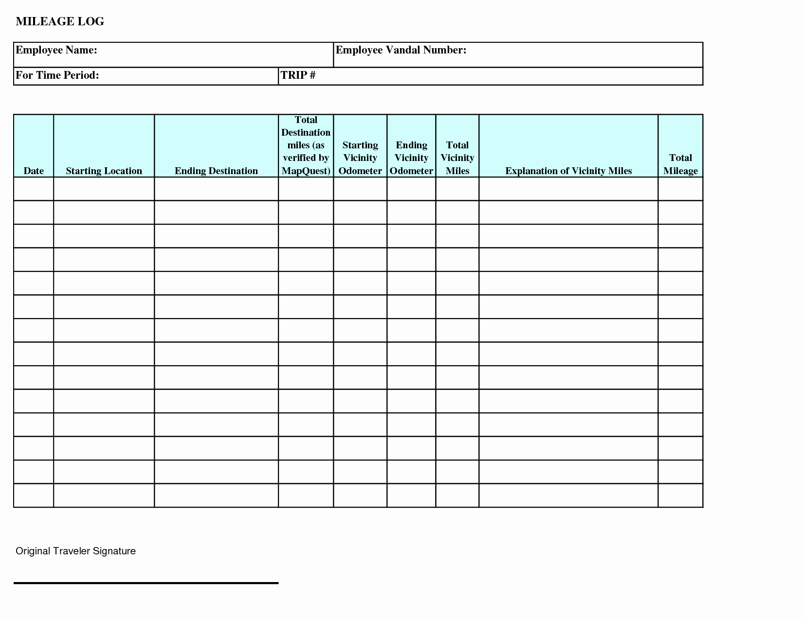 Trucking Trip Sheet Templates Best Of 28 Of Daily Trip Log Template