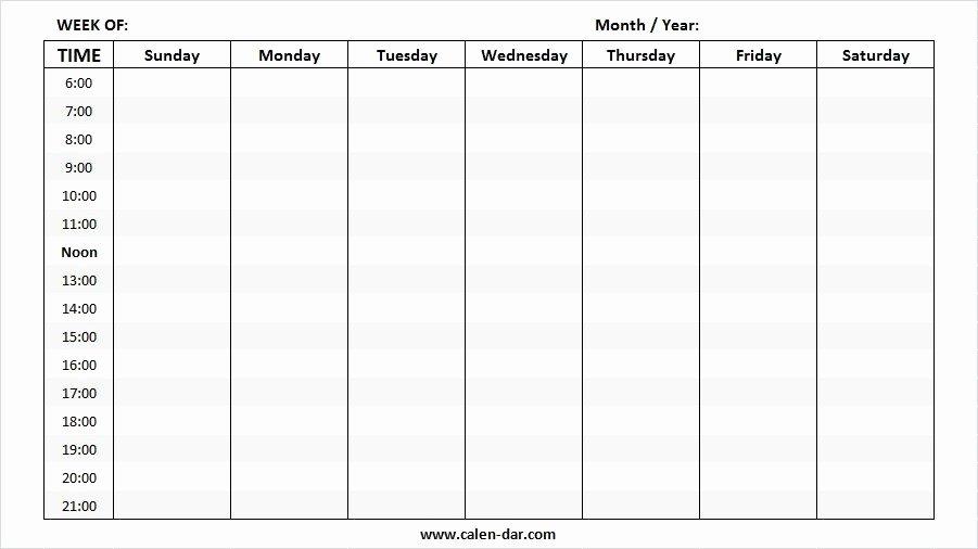 Two Week Calendar Template Inspirational May 2019 Weekly Calendar Printable Make A Week Wise
