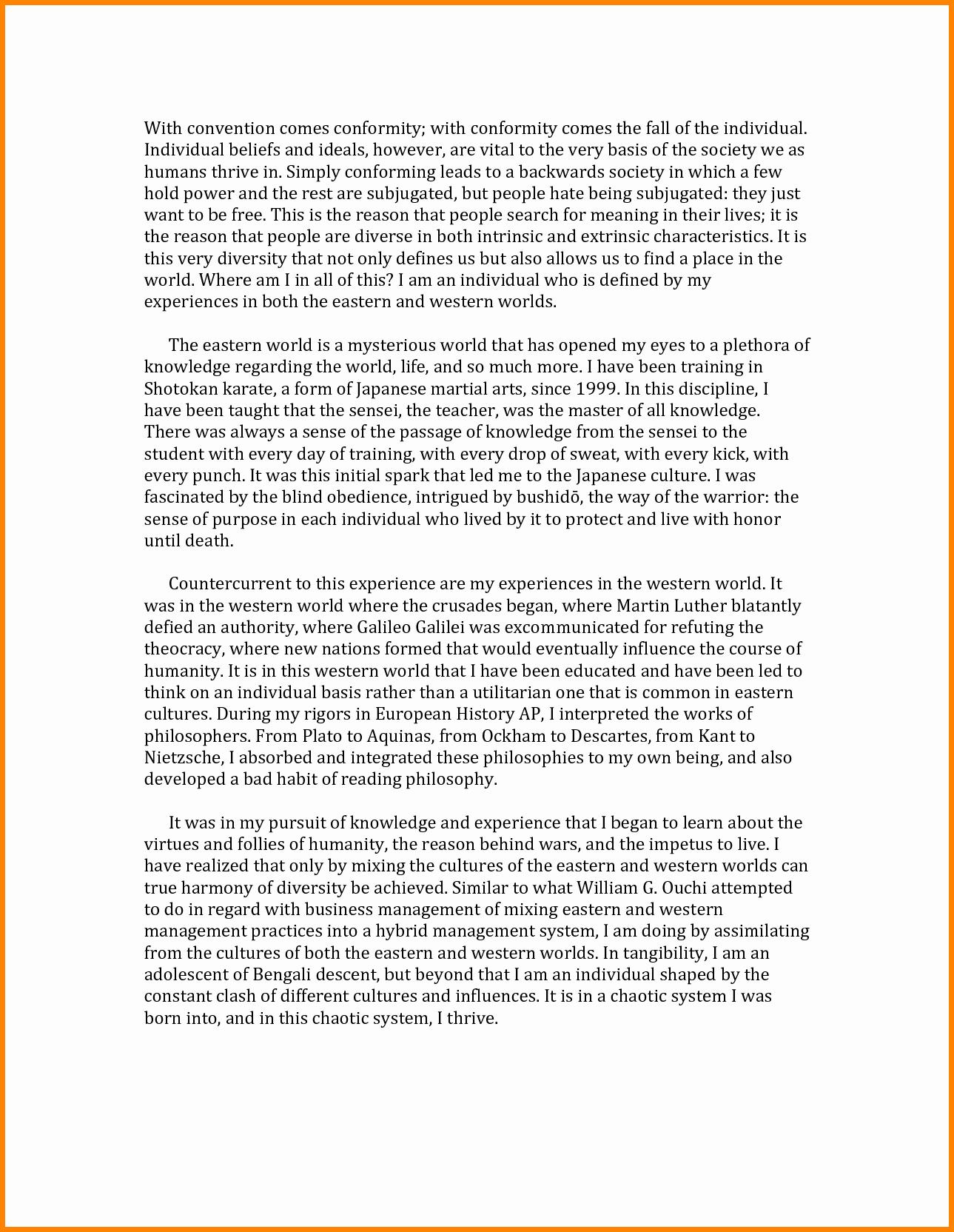 Uc Application Personal Statements Elegant 11 Uc Application Personal Statement