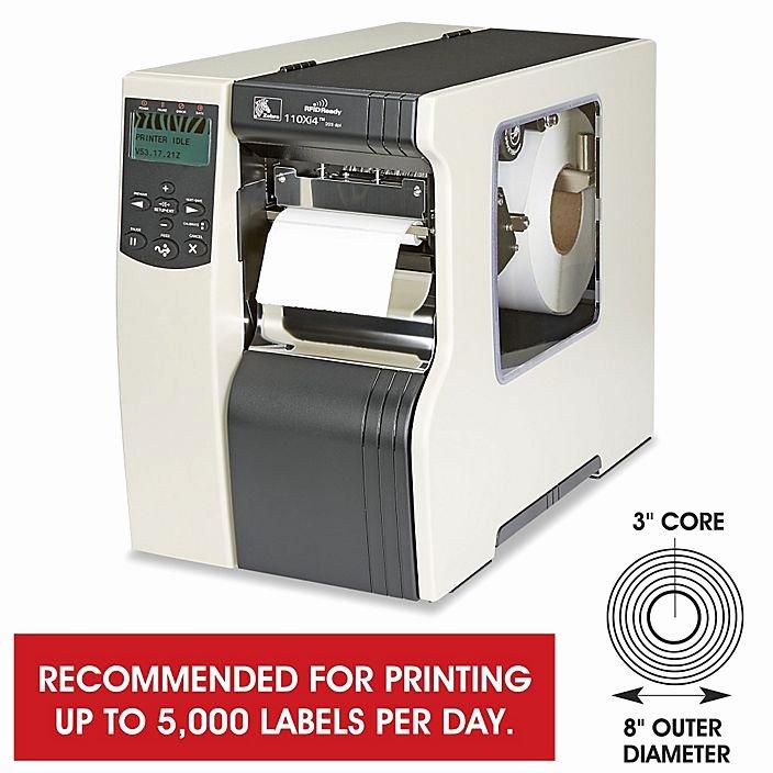 Uline Label Printer Beautiful Zebra 110xi Direct thermal thermal Transfer Printer H 2525