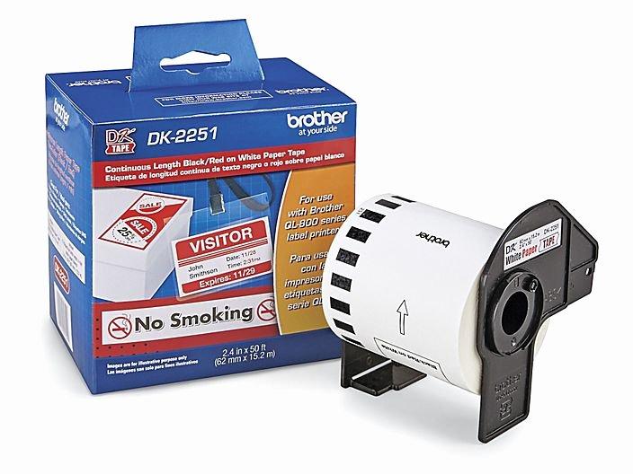 Uline Label Printer Best Of Brother Dk2251 Labels S Uline