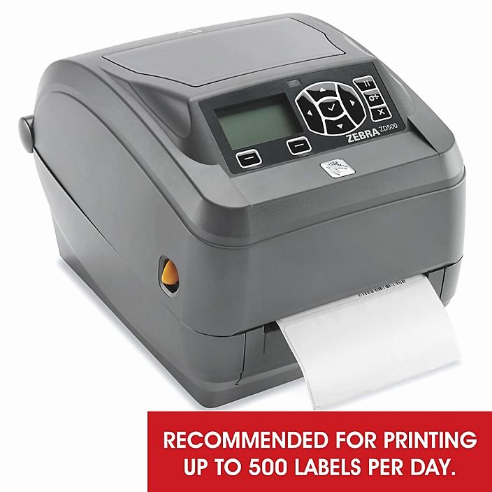 Uline Label Printer Fresh Zebra Zd500 Desktop Dual Barcode Printer H 7249 Uline
