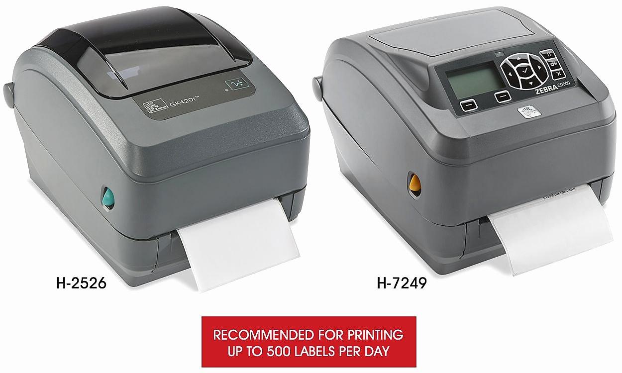 Uline Label Printer Inspirational Zebra Gk420t Zebra Gk430t In Stock Uline
