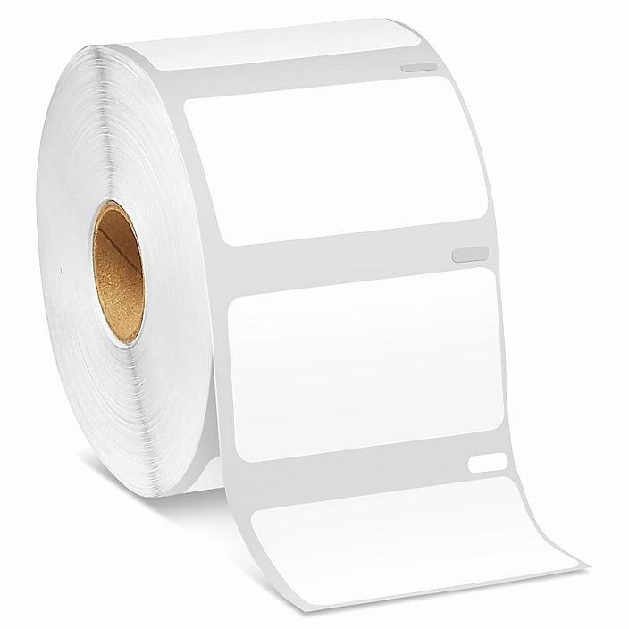 """Uline Label Printer Luxury Uline Mini Printer Labels White Paper 2 1 4 X 1 1 4"""" S"""