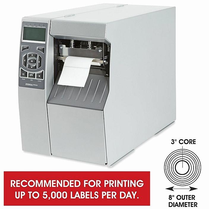 Uline Label Printer New Zebra Zt510 Direct thermal thermal Transfer Printer 300
