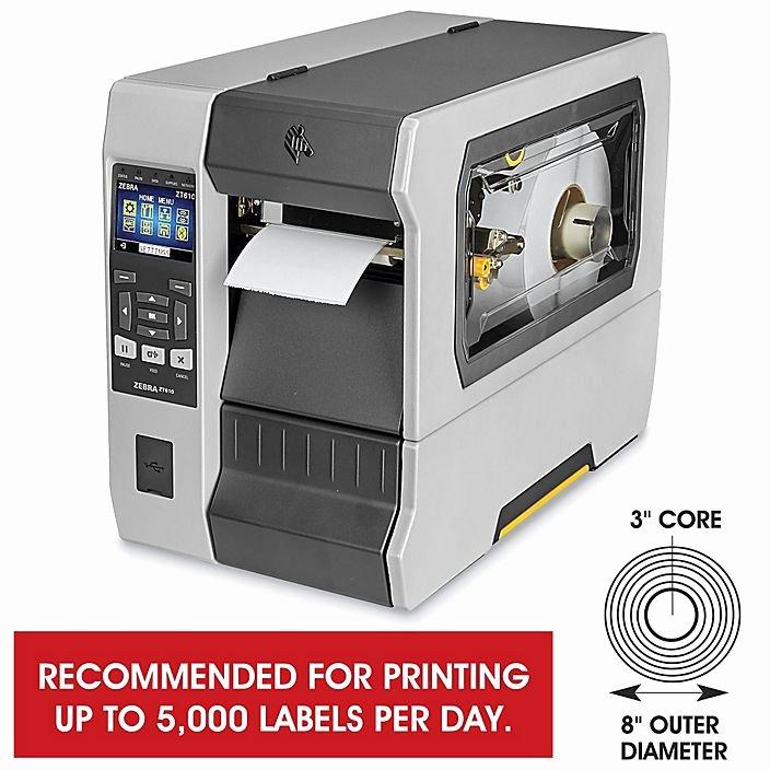 Uline Label Printer Unique Zebra Zt610 Direct thermal thermal Transfer Printer H 7378
